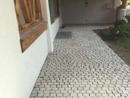 kleinstein nachher pflasterarbeiten roenheim