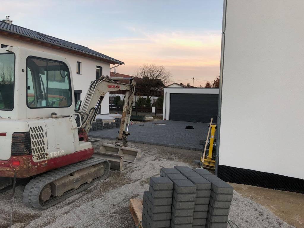 Pflasterarbeiten Aussenanlagen Rosenheim