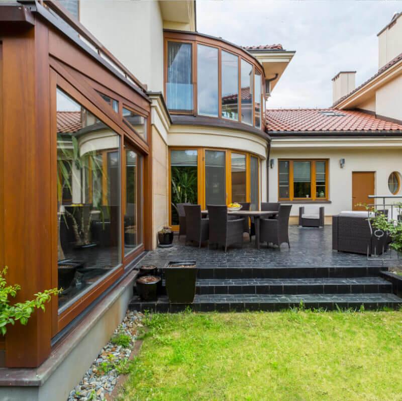 terrasse mit stufe rosenheim