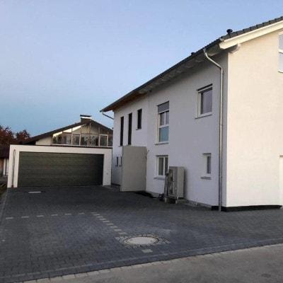 Einfahrt Betonsteinpflaster Rosenheim
