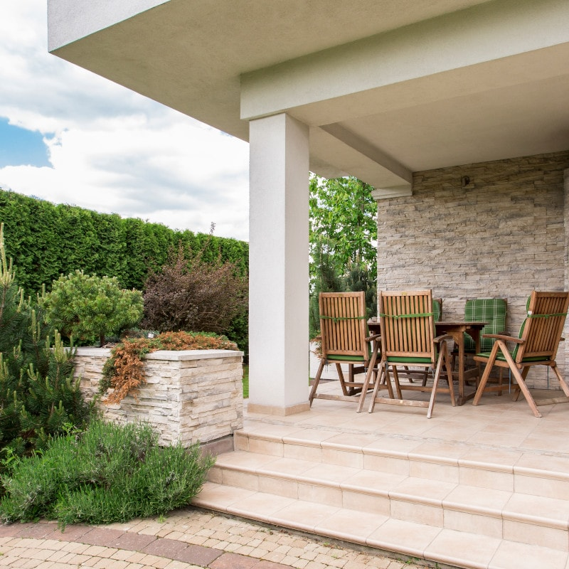 terrasse pflastern rosenheim